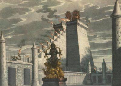 Décors pour la flûte enchantée - Friedrich Schinkel 1816 (8)