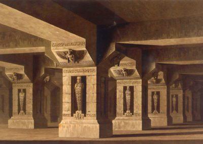 Décors pour la flûte enchantée - Friedrich Schinkel 1816 (9)