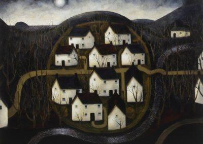 Dusk hill village - John Caple (1983)