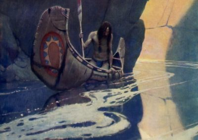 In the crystal depths - Newell Convers Wyeth (1906)