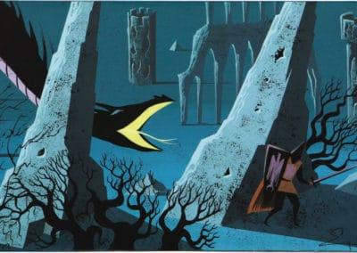 La belle au bois dormant - Eyvind Earle 1959 (1)