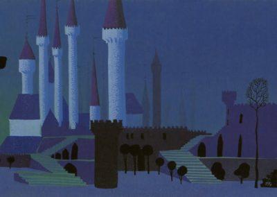 La belle au bois dormant - Eyvind Earle 1959 (12)