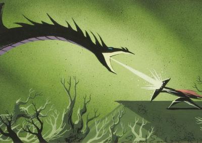 La belle au bois dormant - Eyvind Earle 1959 (13)
