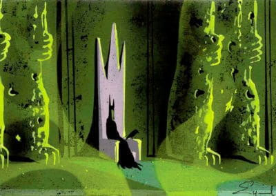 La belle au bois dormant - Eyvind Earle 1959 (14)