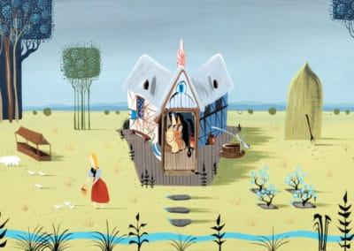 La belle au bois dormant - Eyvind Earle 1959 (16)