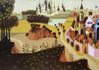 La belle au bois dormant - Eyvind Earle 1959 (28)