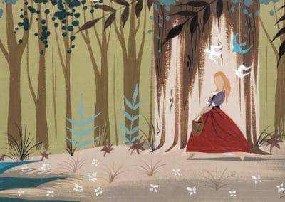La belle au bois dormant - Eyvind Earle 1959 (2)