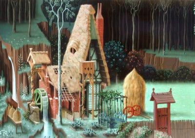 La belle au bois dormant - Eyvind Earle 1959 (21)