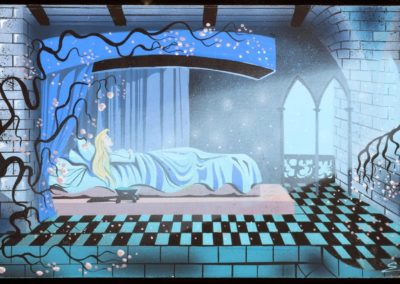 La belle au bois dormant - Eyvind Earle 1959 (22)