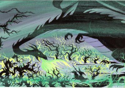La belle au bois dormant - Eyvind Earle 1959 (23)