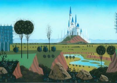 La belle au bois dormant - Eyvind Earle 1959 (24)