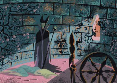 La belle au bois dormant - Eyvind Earle 1959 (25)