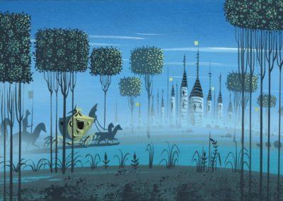 La belle au bois dormant - Eyvind Earle 1959 (3)