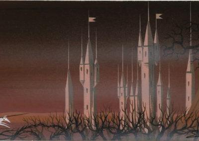 La belle au bois dormant - Eyvind Earle 1959 (6)