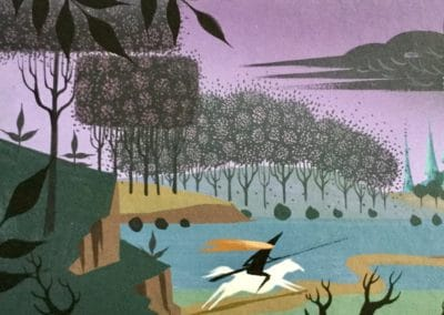 La belle au bois dormant - Eyvind Earle 1959 (8)