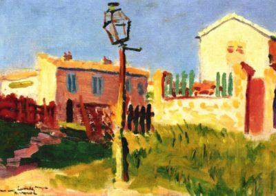 Lampe de rue Arcueil - Albert Marquet (1899)