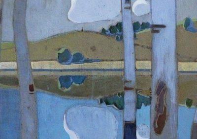 Landscape with trees - Teodoro Wolf Ferrari (1908)