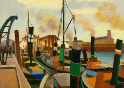 Le port - Auguste Herbin (1907)