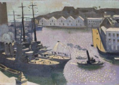 Le port de Brest - Maurice Denis (1932)