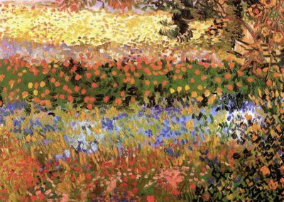 Le verger en fleurs - Vicent Van Gogh (1888)