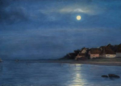 Moonlight - Carl Bloch (1867)