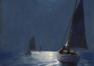 Night fishing - Soter Jaxa Małachowski (1936)