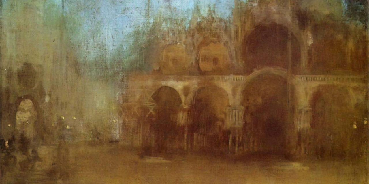 Le gondolier muet rame en silence – George Byron