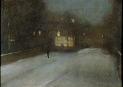Nocturne en gris et dore - James McNeill Whister (1876)