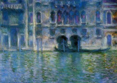 Palazzo da mula - Claude Monet (1908)