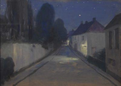 Paysage de nuit - Constant Montald (1916)
