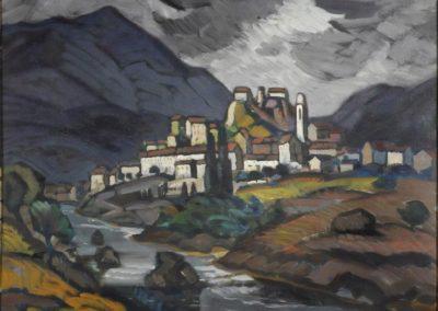 Sous l'orage - Corte-Corse, - Raoul Carré (1927)