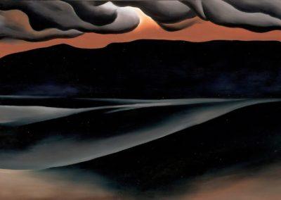 Storm cloud - Georgia O'Keefe (1923)