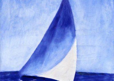 The blue sail - Kees van Dongen (1951)