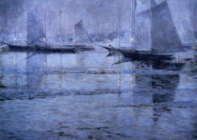 The fog evening - George Sotter (1921)