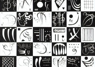Trente - Vassily Kandinsky (1937)