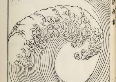 Vagues et ondulations - Mori Yuzan 1919 (15)