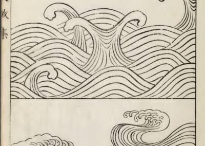 Vagues et ondulations - Mori Yuzan 1919 (3)