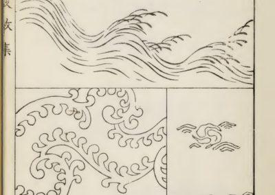 Vagues et ondulations - Mori Yuzan 1919 (5)