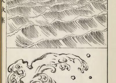 Vagues et ondulations - Mori Yuzan 1919 (8)