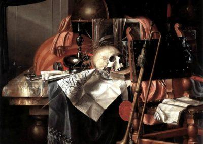 Vanité - Franciscus Gysbrechts (1650)