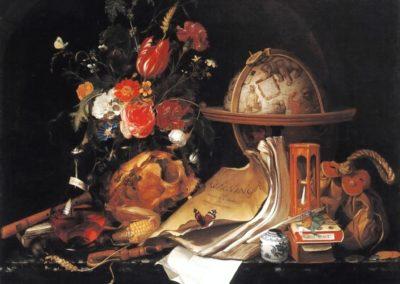 Vanité - Maria van Oosterwyck (1668)