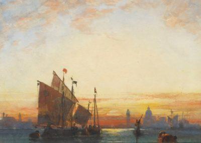 Venice, evening - William Wyld (1861)
