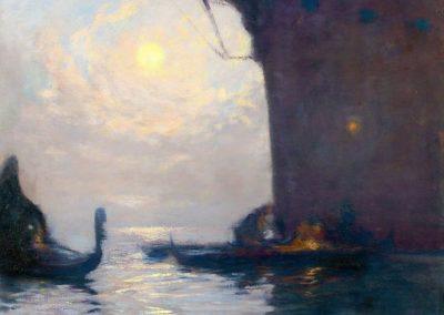 Venise a la lumiere de la lune - Gaston de la Touche (1893)