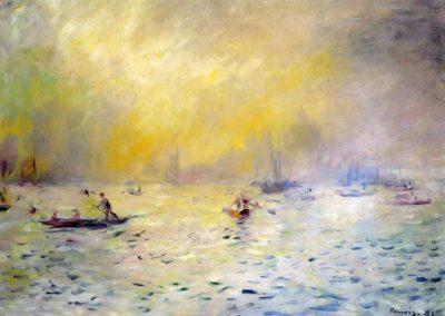 Vue de Venise, brouillard - Pierre-Auguste Renoir (1881)