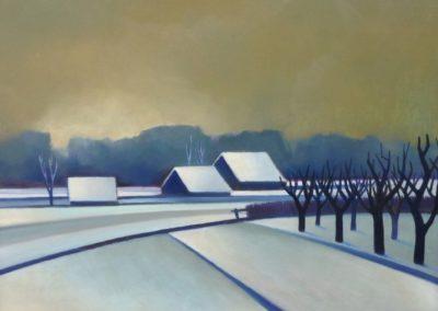 Winter landscape 2 - Chris Ten Bruggen Kate (1977)