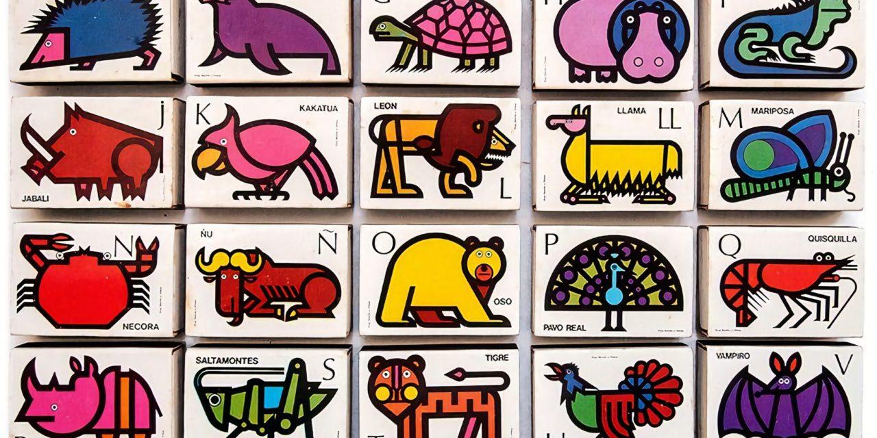 Boîtes d'allumettes «animaux» – Cruz Novillo