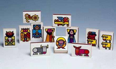 Boîtes d'allumettes «nativité» – Cruz Novillo