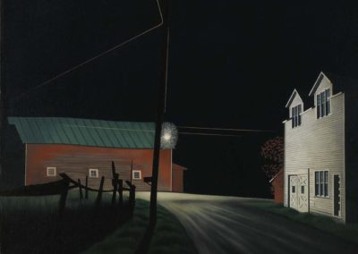 Bright light at Russells corners - George Ault (1946)