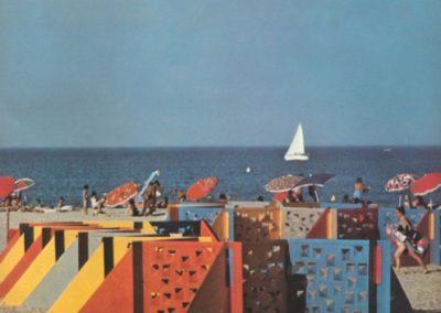 Brise vente, Port Leucate - Georges Candilis 1963 (2)