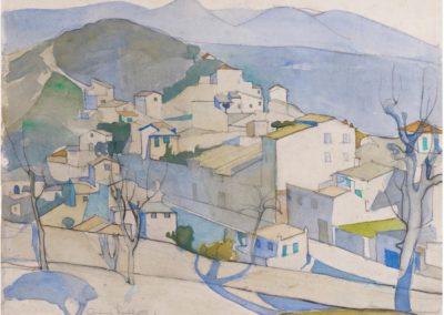 Cagnes sur mer - Anne Redpath (1933)